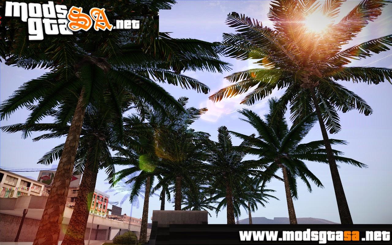 SA - Árvores e Palmeiras em HD