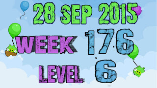 Angry Birds Friends Tournament level 6 Week 176