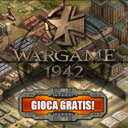 Wargame 1942 ITA, browser game di strategia militare della 2° guerra mondiale
