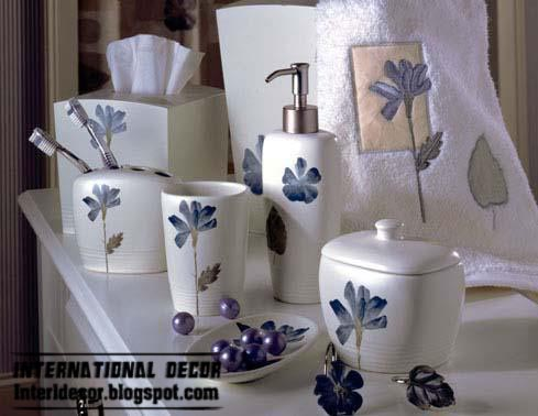 China Bathroom Accessories Set Blue, Stylish Bathroom Accessories Set