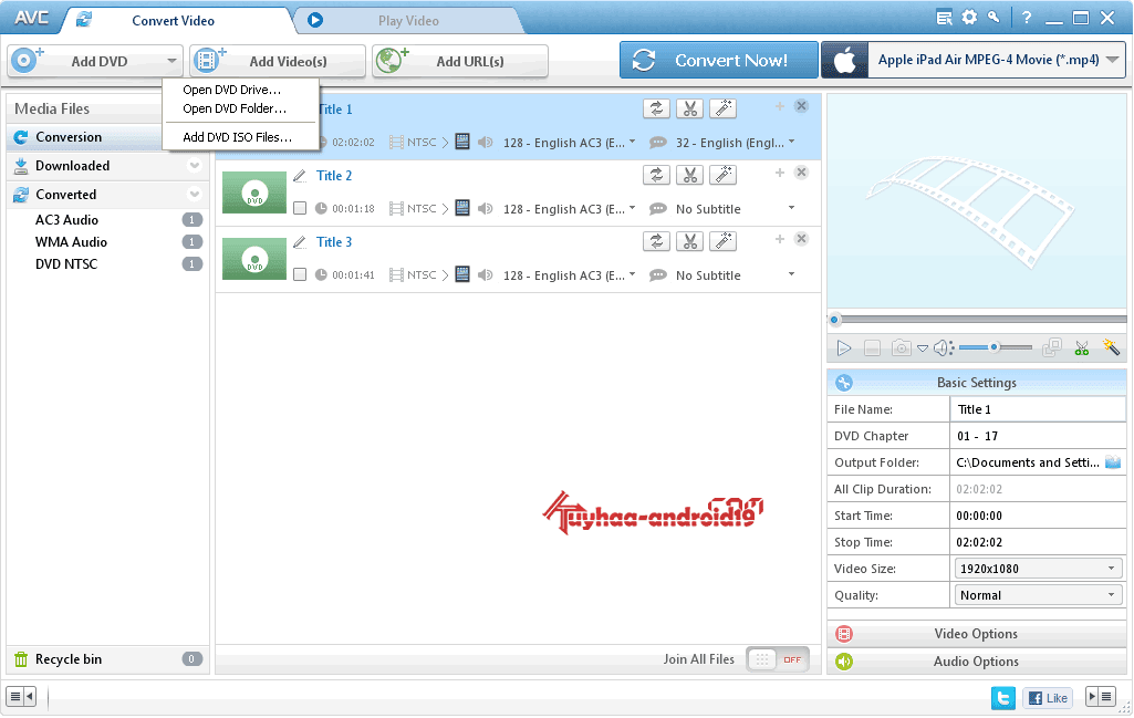 Any Video Converter Pro 5.5.6 Terbaru full