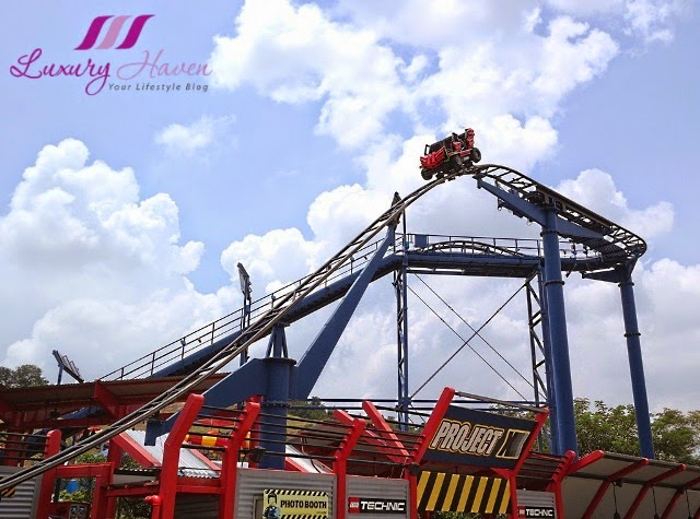 legoland theme park lego technic area roller coaster review