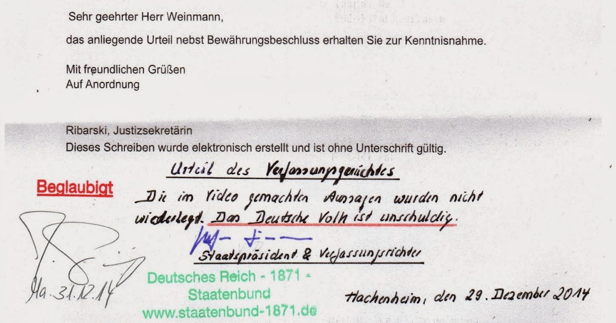 deutsches reich verfassung