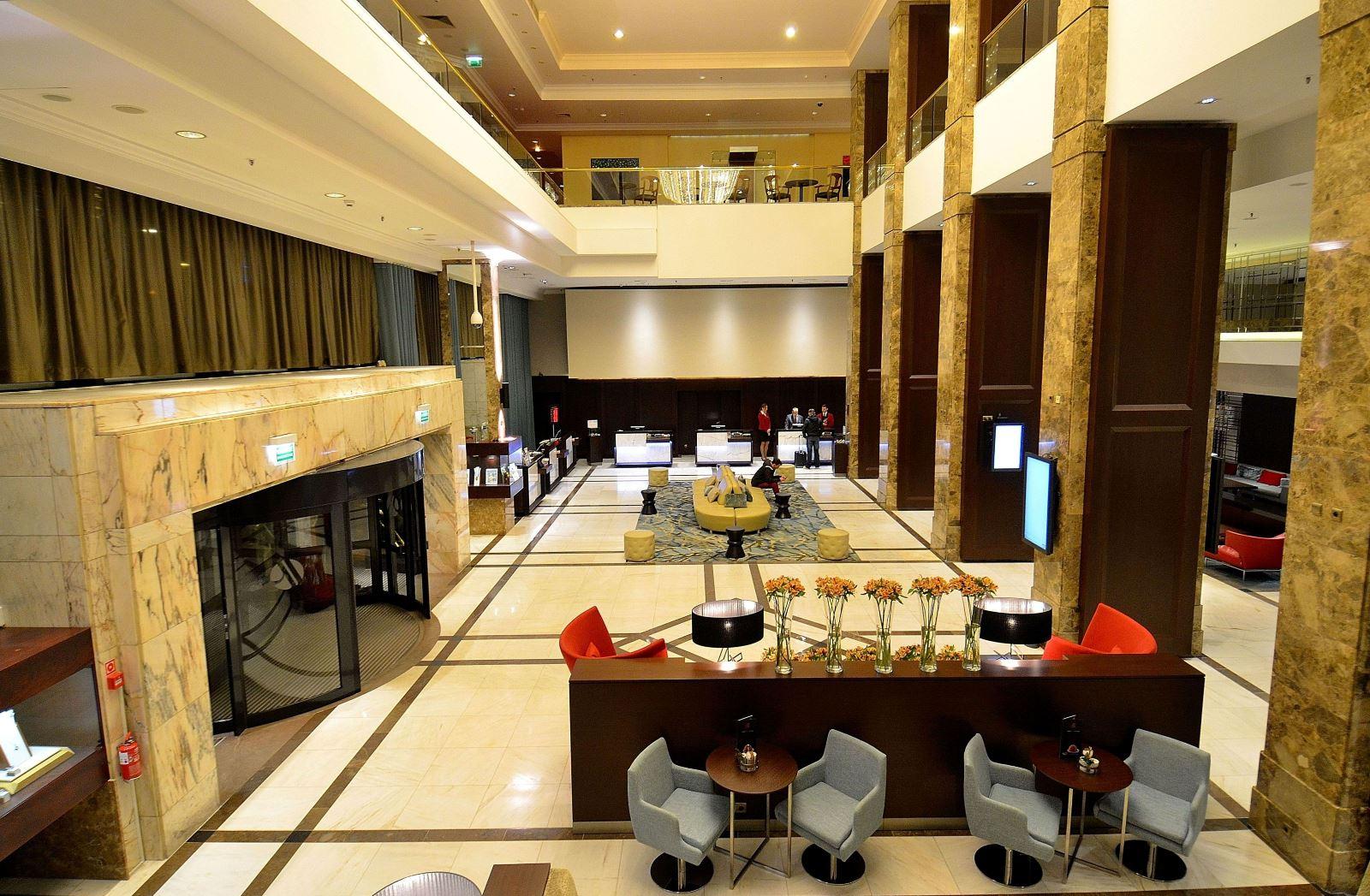 Hotel Marriott Warszawa - lobby