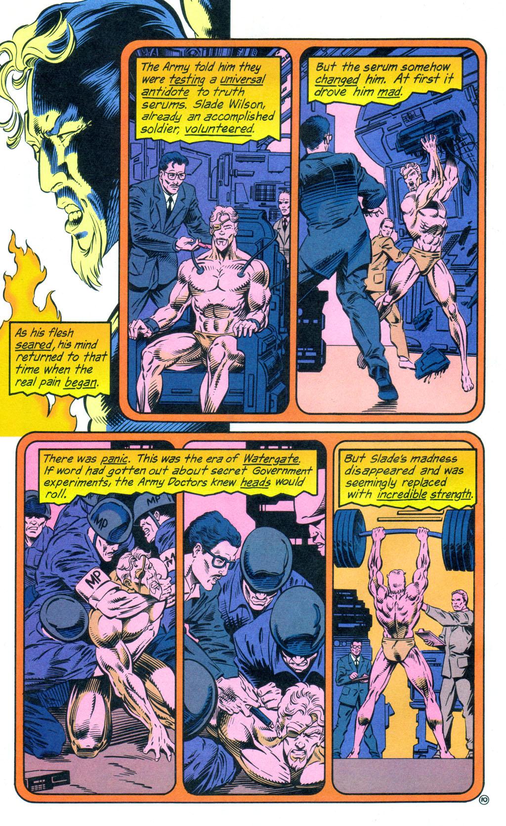 Deathstroke (1991) Annual 3 #3 - English 11
