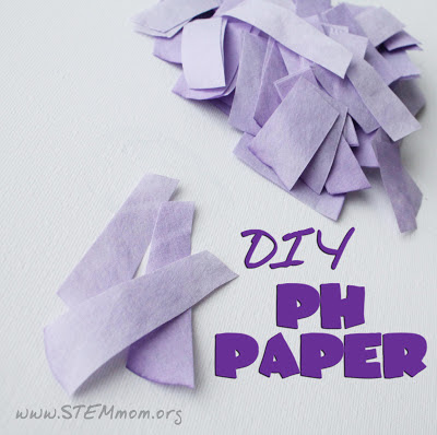 DIY pH paper Tutorial from STEMmom.org