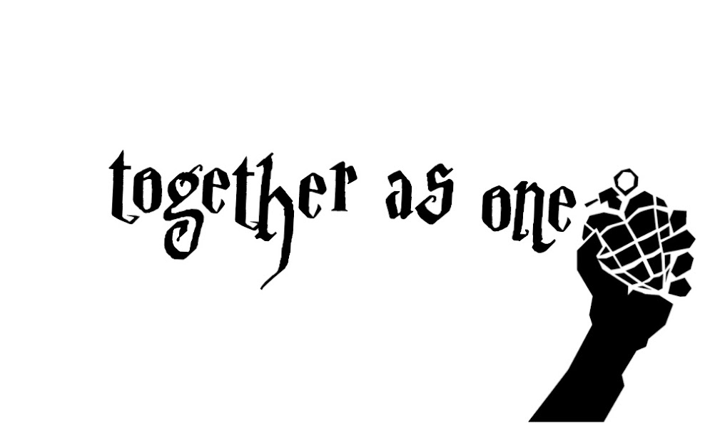Together as one.