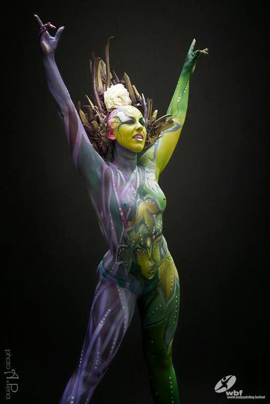 Kumpulan Foto Body Painting 4