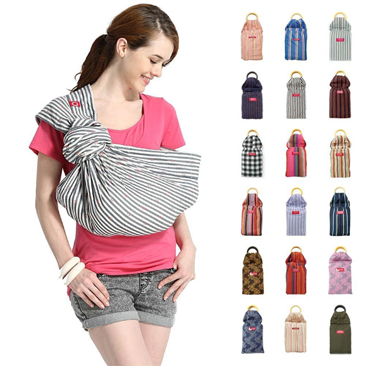 Baby Ring Sling Carrier (Adjustable - One Size) #mamawayus