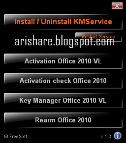 Mini kms activator v 1 3 office 2010 sharing for all - Mini kms activator office 2010 download ...