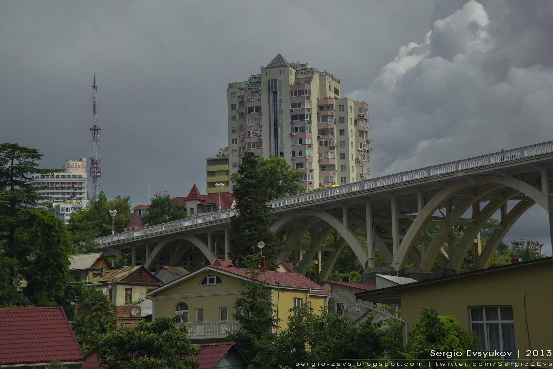 Мост в Сочи