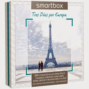 Smartbox Pack experiencia Estancias Tres Días por Europa