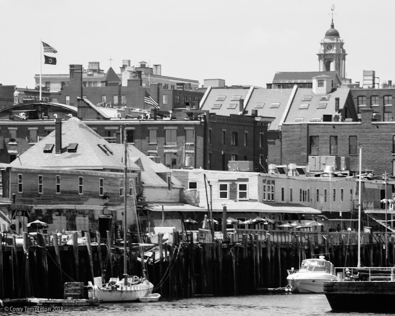 Portland, Maine. Summer 2013 Old Port Skyline by Corey Templeton.
