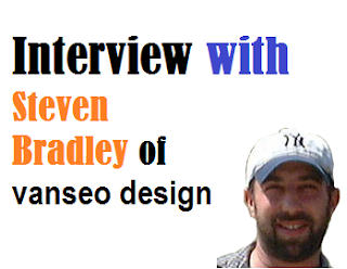 An interview with Steven Bradley of Vanseo Design front