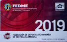 Licencia FEDME 2019