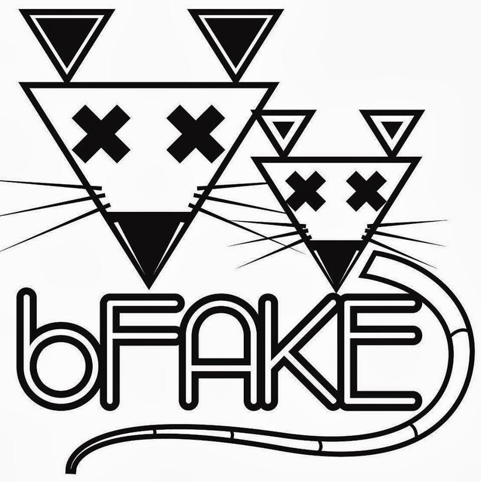 bFAKE logo
