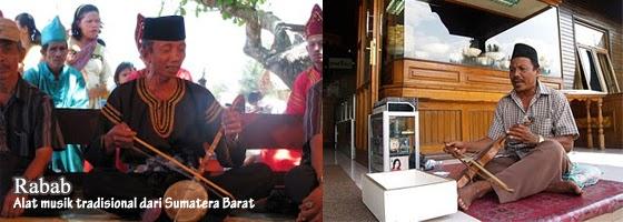 Alat musik tradisional dari Minangkabau Sumatera Barat