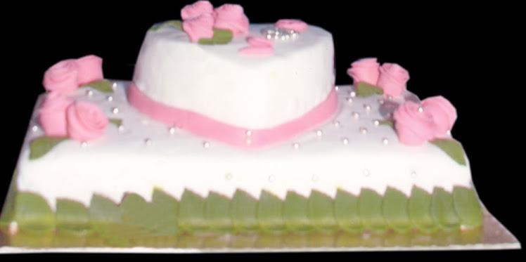 şeker hamurlu butik pasta