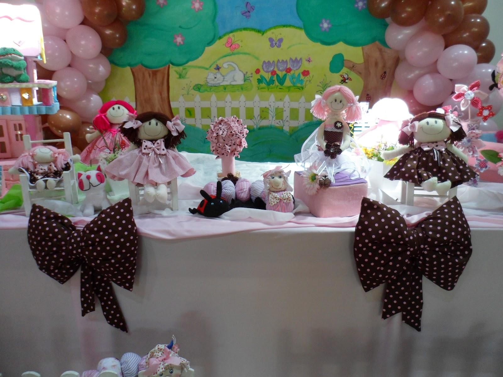 Marrom E Rosa é A Mais Nova Tendência Para Decoração De Festas ~ Decoracao Bonecas No Jardim