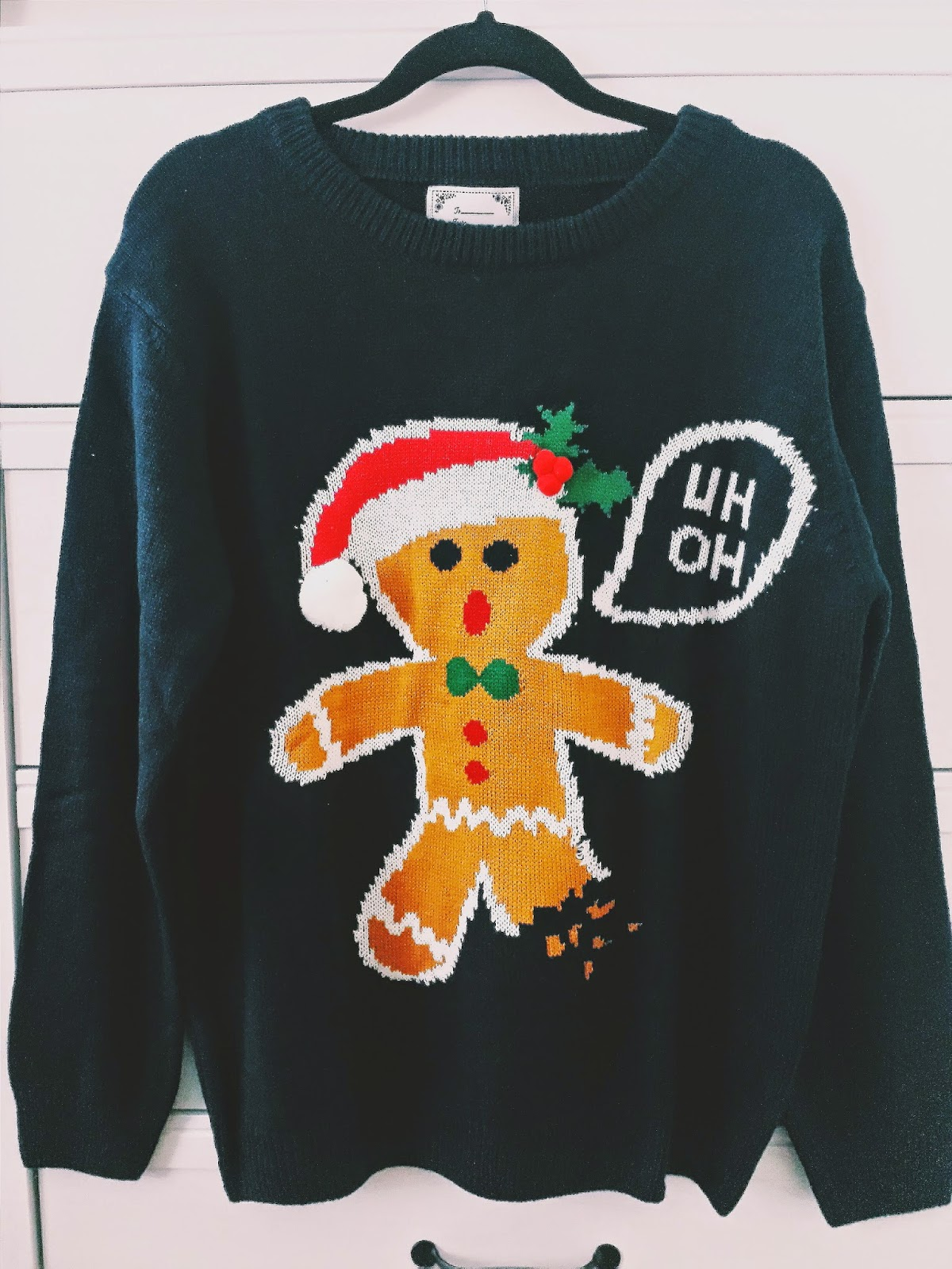 Gingerbread Man Jumper Knitting Pattern : PRIMARK HAUL DECEMBER 2014 - Reinventing Neesha