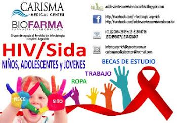 AYUDA PARA NIÑOS, ADOLESCENTES Y JOVENES QUE NACIERON CON HIV/Sida