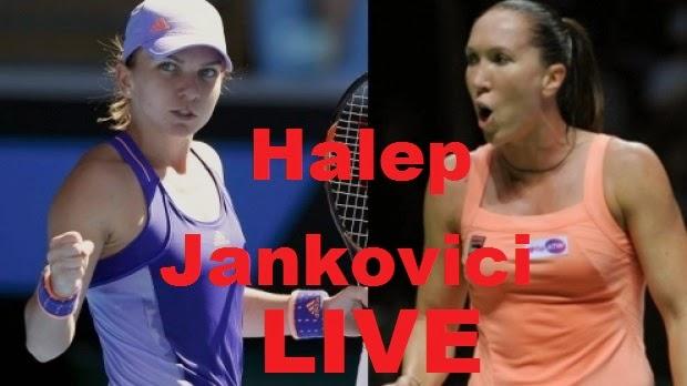 Simona Halep Jelena Jankovici Finala Indian Wells WTA tenis feminin live