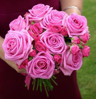 pink wedding flower