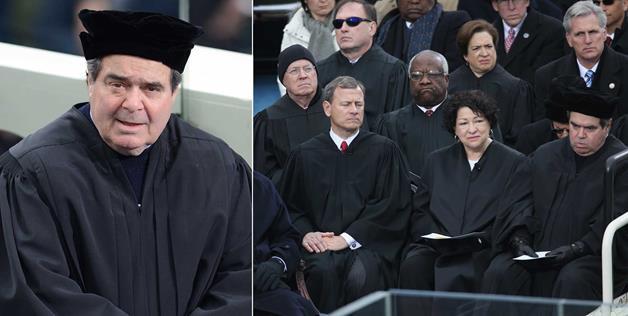 Hat Justice Scalia
