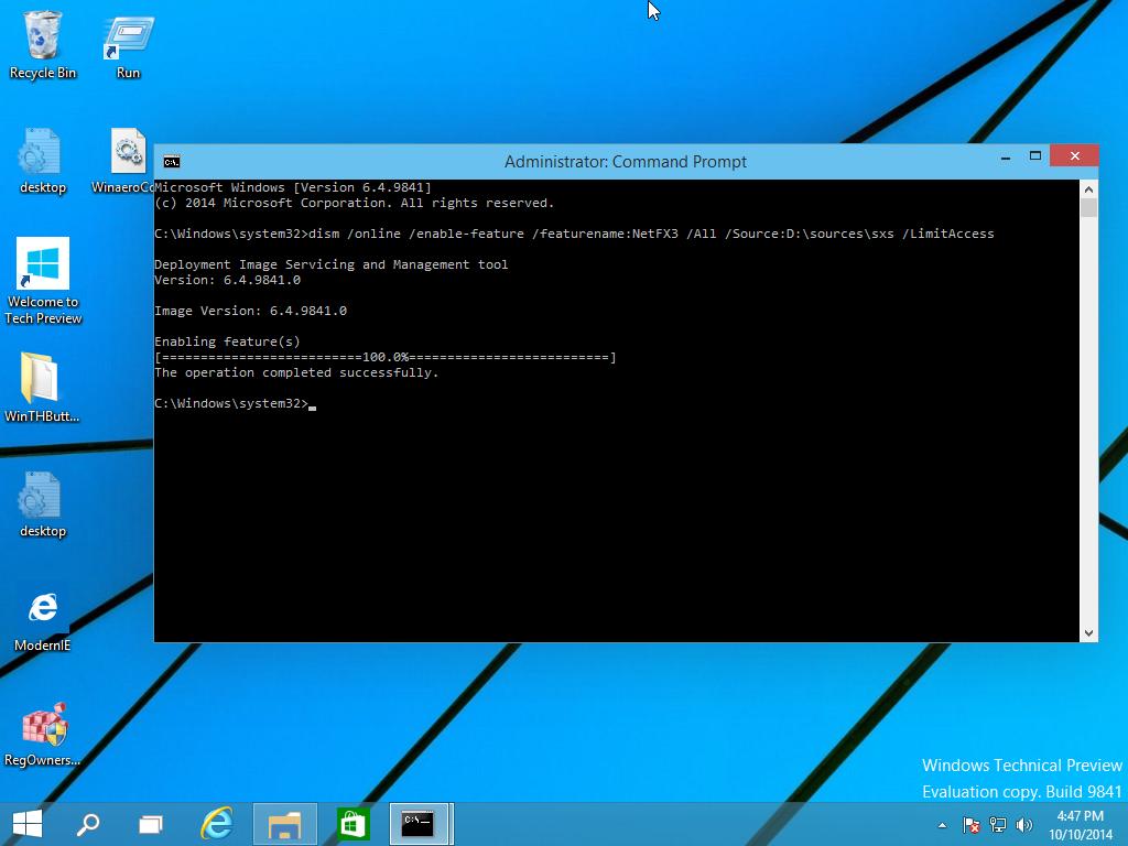 Cara Mudah Install .NET Framework 3.5 Offline di Windows 10 ...