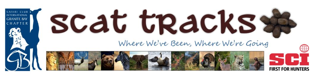 Granite Bay Chapter Blog - Safari Club International - Northern CA