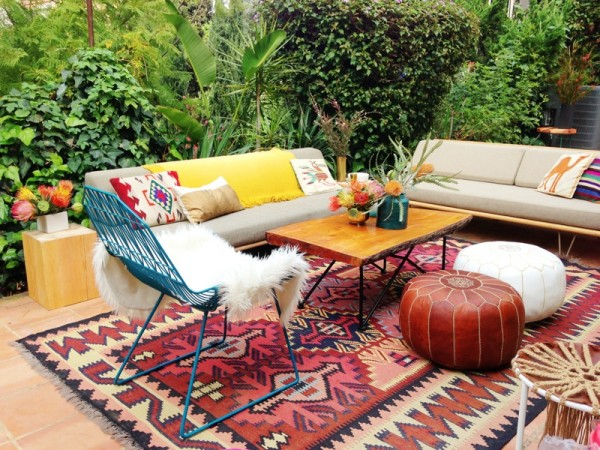 Copy Cat Chic Copy Cat Chic Room Redo Bohemian Chic Outdoor Room
