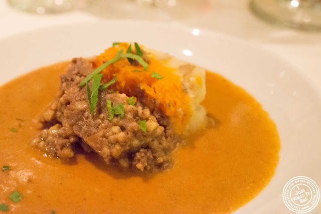 image of Highland haggis at Incognito Bistro in NYC, New York