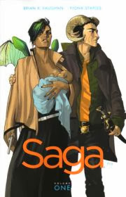Cover of Saga volume one