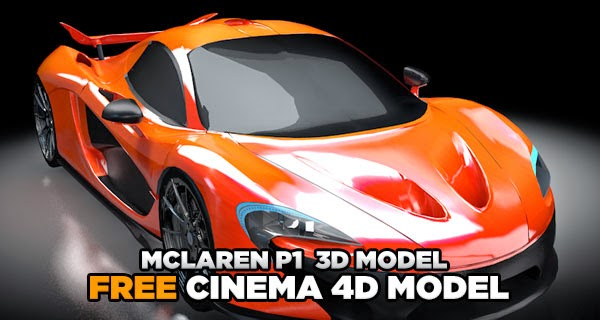 Download McLaren P1 3d Model
