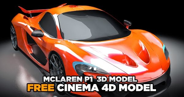 Download mclaren p1 3d model cg daily news for 3d drawing online no download