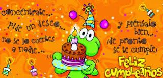 Tarjetas para Cumpleaños 2015 - 2016
