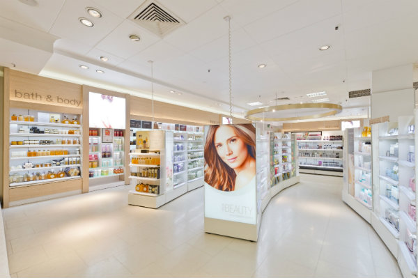 New Marks and Spencer Beauty Halls Open In Dublin