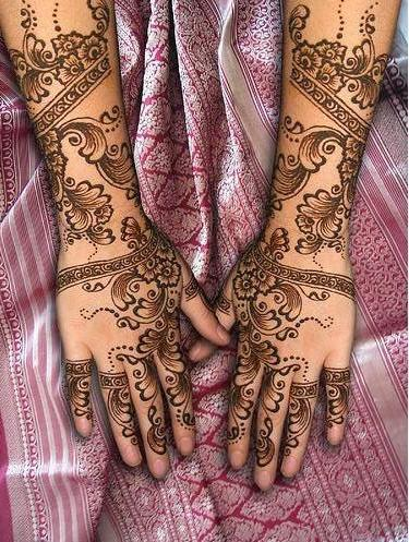 Mehndi Designs: Latest Bridal Mehndi Designs 2012