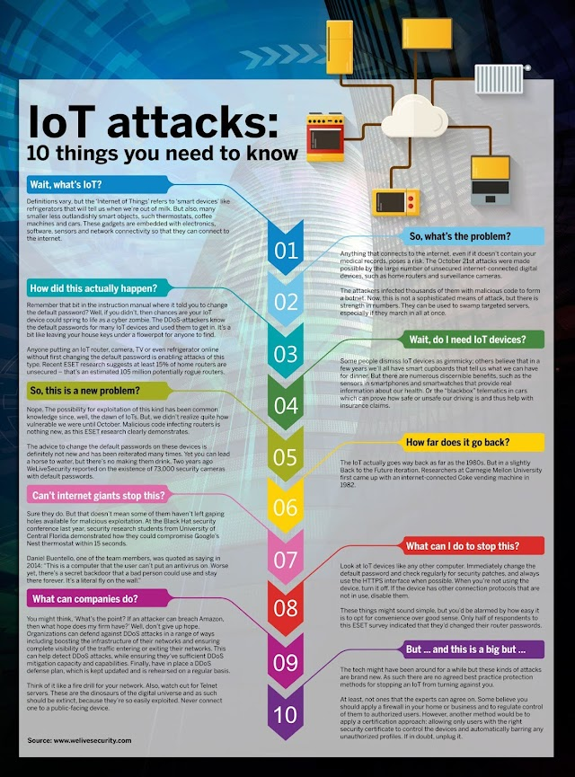 10 things you need to know in #IoT attacks