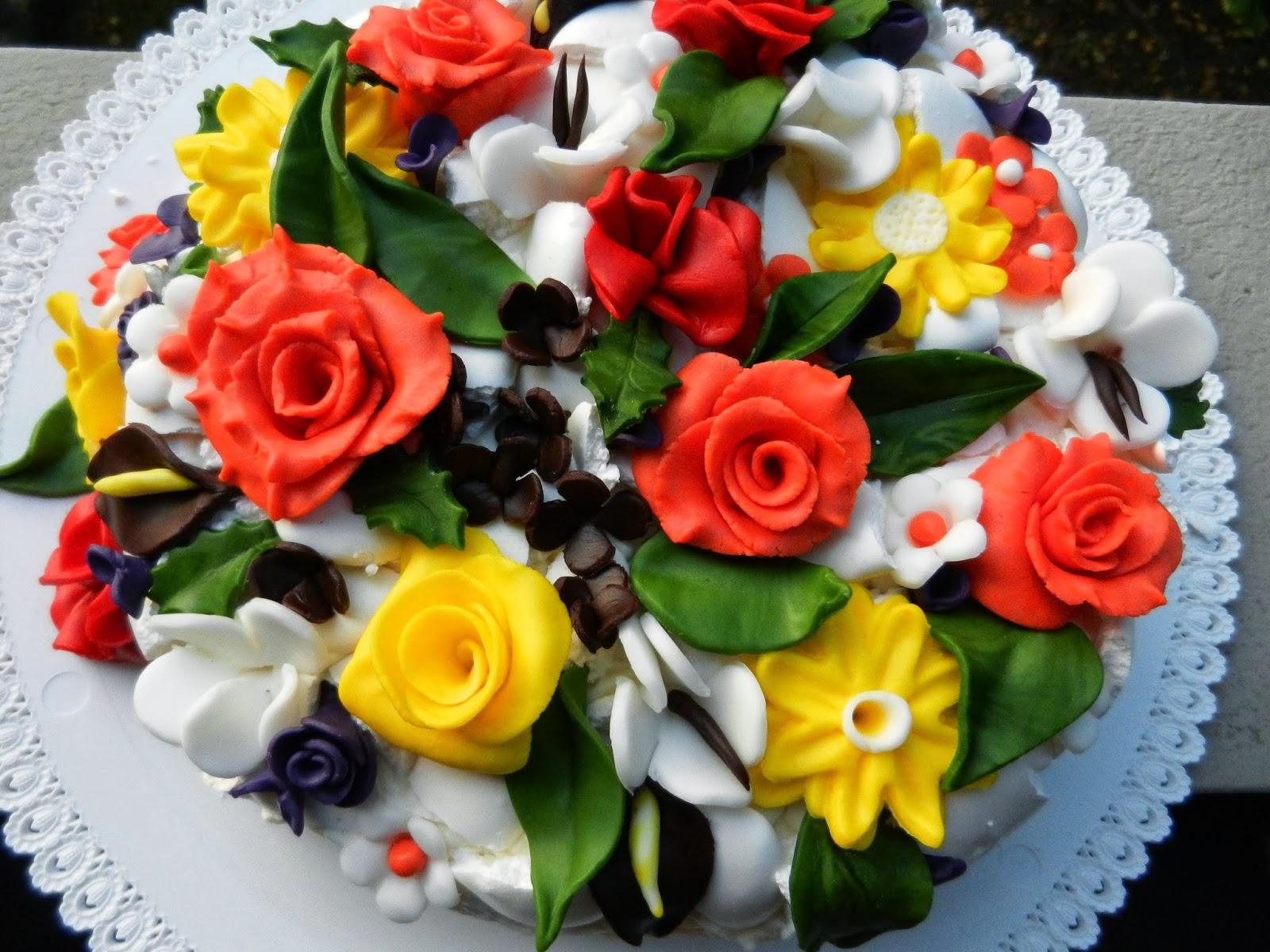 Fiori In Ottobre La Torta Di Compleanno