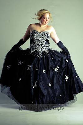 Wedding Dresses , Gothic Wedding Dresses , Victorian Wedding Dress
