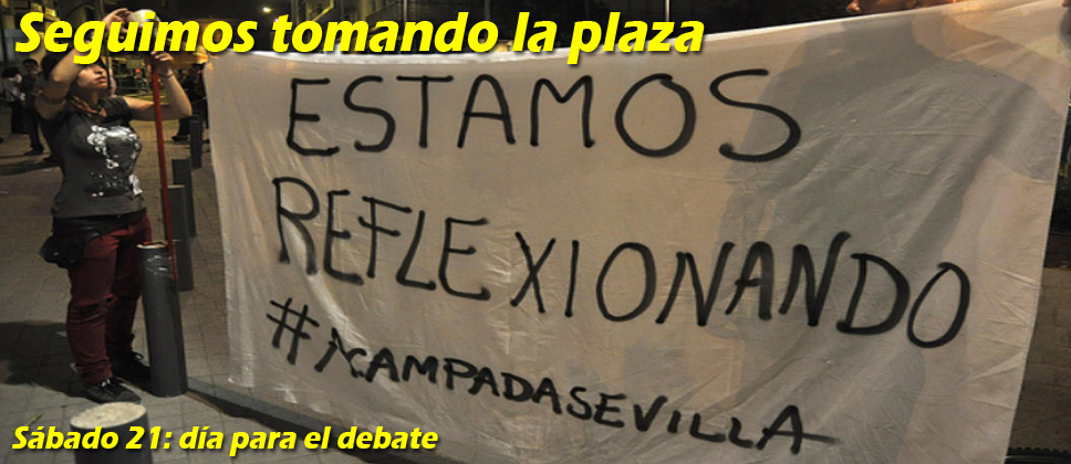 Acampada Sevilla
