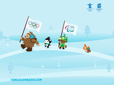 Free Vancouver 2010 Olympic Winter Games PowerPoint Background 7