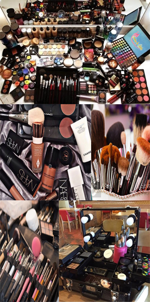 Our Tools & Equipment Makeup
