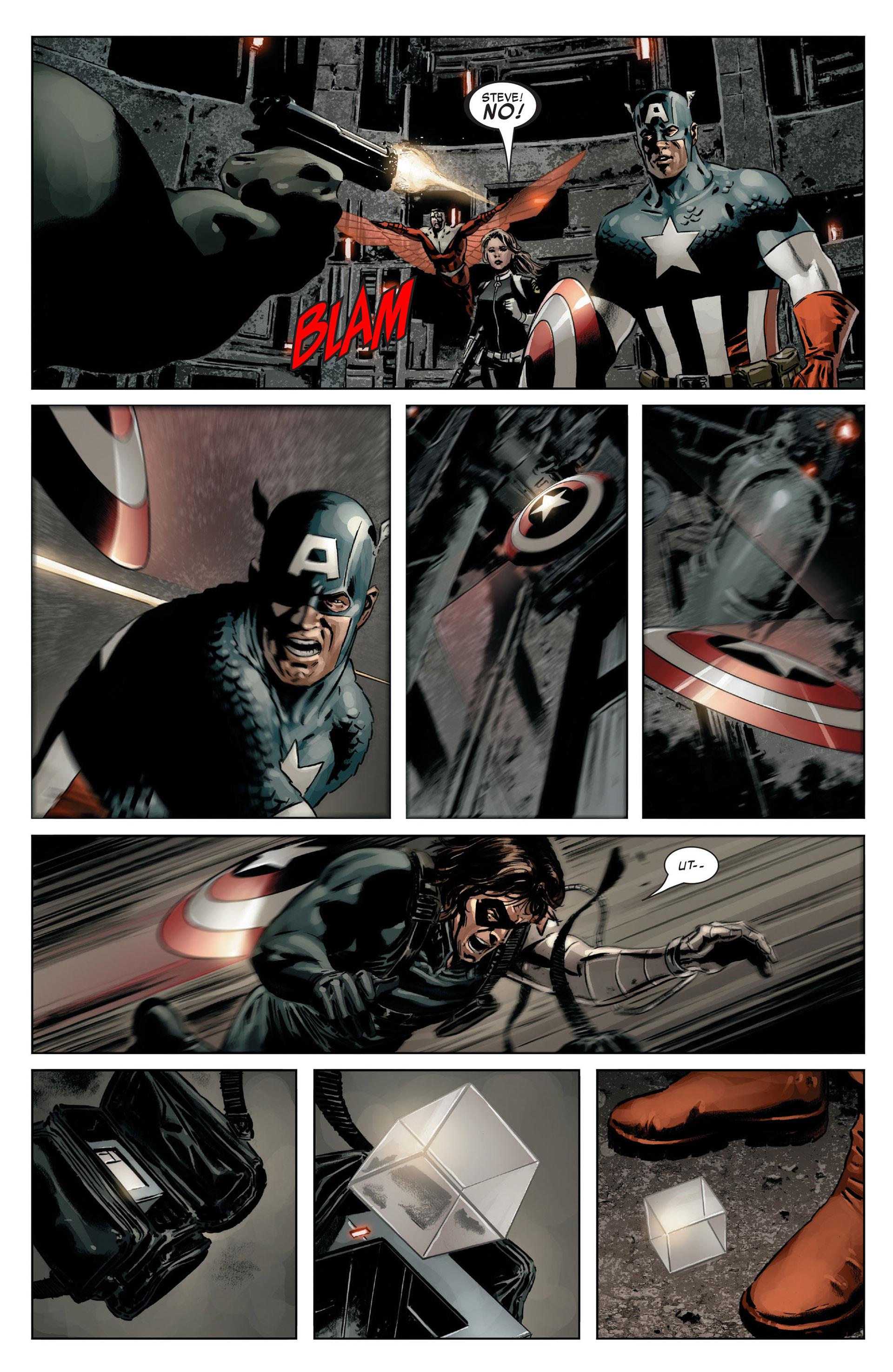 Captain America (2005) Issue #14 #14 - English 16