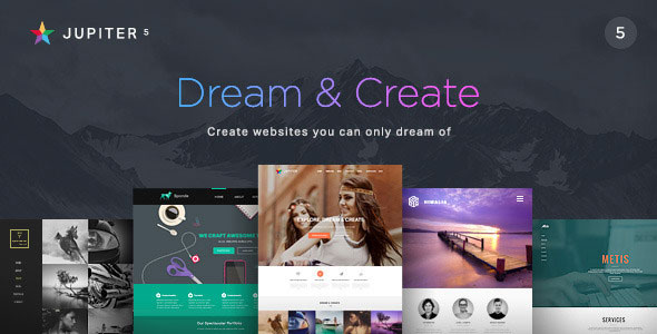 Free Download Jupiter V5.0.2- Multi-Purpose Responsive Wordpress Theme
