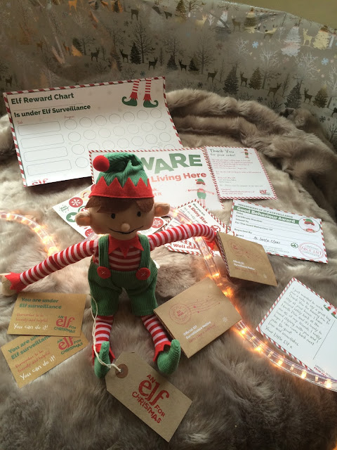 An Elf for Christmas - Elf on the shelf UK