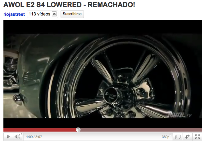 AWOL E2 S4 LOWERED - REMACHADO!