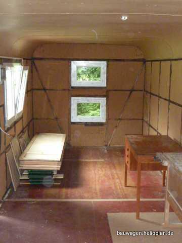 Tienes bauwagen projekt juli 2012 - Feuchtigkeit am fenster innen ...