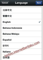 wechat language